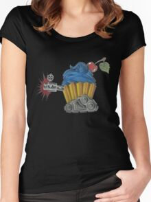 Tank Cake Women's Fitted Scoop T-Shirt
