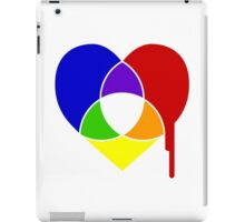 color chart heart iPad Case/Skin