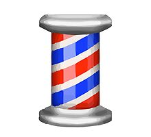 Barber Pole Apple / WhatsApp Emoji by emoji