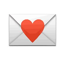 Love Letter Apple / WhatsApp Emoji by emoji