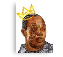 Omar The King Canvas Print