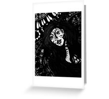 The Spiritual Catalyst B & W Greeting Card