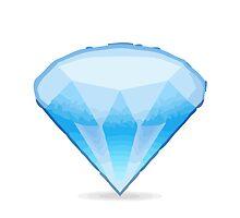 Gem Stone Apple / WhatsApp Emoji by emoji
