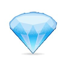Gem Stone Apple / WhatsApp Emoji by emoji