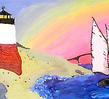 Rhode Island Coast. by Nicole Pallante
