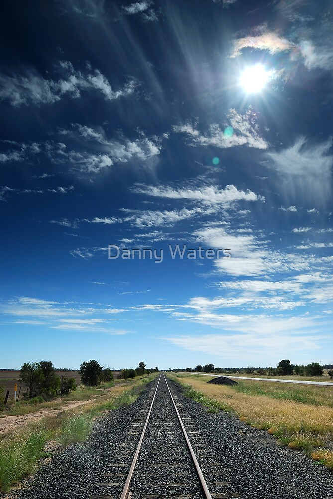 railway tracks by Danny Waters