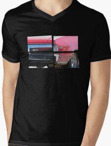 SKYLARK - Halftone Mens V-Neck T-Shirt