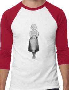 Lady in the radiator Men's Baseball ¾ T-Shirt