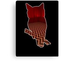 Owl (Twin Peaks) color Canvas Print