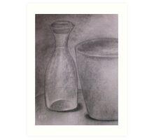 Carboncino Study Art Print