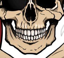 Jolly Roger pirate skull and crossbones Sticker