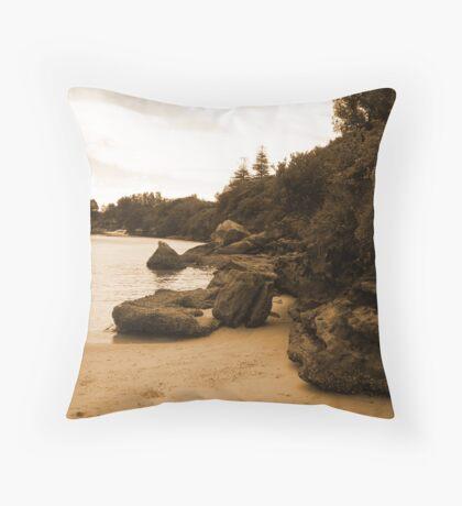Melancholy Throw Pillow
