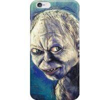 Portrait of Gollum iPhone Case/Skin