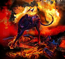 Raging Inferno by WickedWolfWares