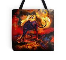 Raging Inferno Tote Bag