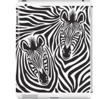 Zebra Couple iPad Case/Skin