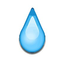 Droplet Apple / WhatsApp Emoji by emoji
