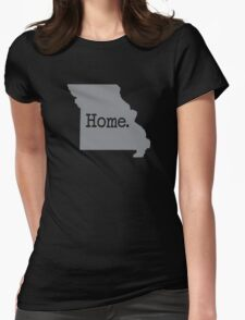 Missouri Home MO Pride Womens Fitted T-Shirt