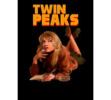 Twin Peaks Fiction (Pulp Fiction parody) Photographic Print