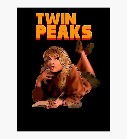 Twin Peaks Fiction (Pulp Fiction parody) Photographic Print