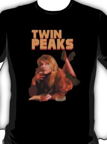 Twin Peaks Fiction (Pulp Fiction parody) T-Shirt
