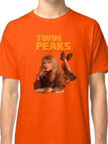 Twin Peaks Fiction (Pulp Fiction parody) Classic T-Shirt