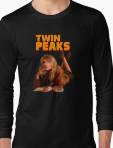 Twin Peaks Fiction (Pulp Fiction parody) Long Sleeve T-Shirt