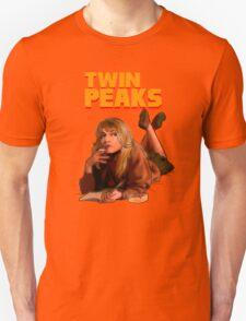 Twin Peaks Fiction (Pulp Fiction parody) Unisex T-Shirt