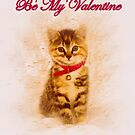 Kitten Valentine by Richard Hamilton-Veal