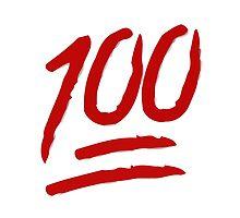Hundred Points Symbol Apple / WhatsApp Emoji by emoji