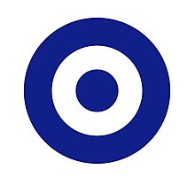 Hellenic Air Force - Roundel Photographic Print
