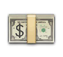 Banknote With Dollar Sign Apple / WhatsApp Emoji by emoji