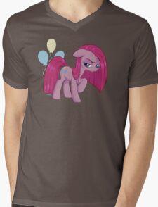 Pinkamena Diane Pie Mens V-Neck T-Shirt