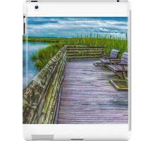 Wetland Boardwalk iPad Case/Skin