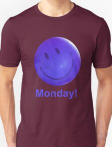 Happy Monday Blue Balloon T-Shirt