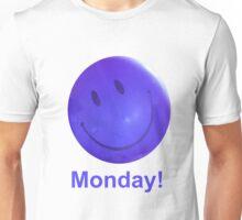 Happy Monday Blue Balloon Unisex T-Shirt