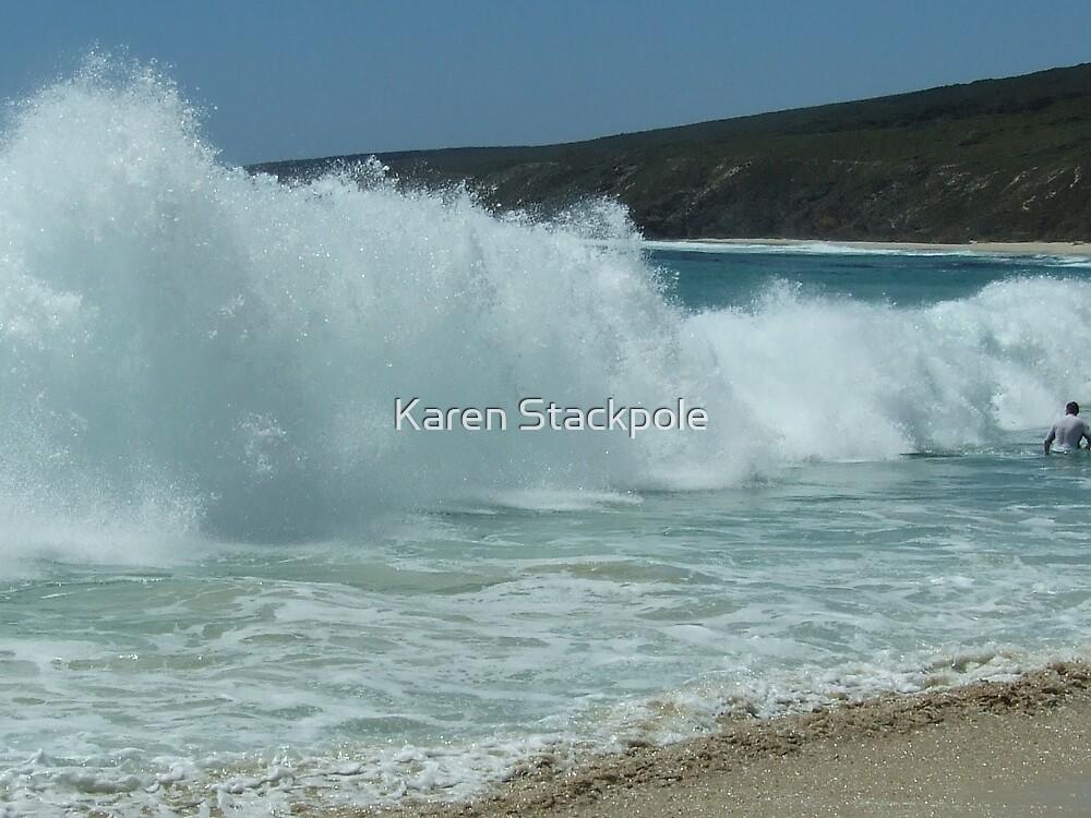 Yallingup Surf  - Western Australia. (MUST VIEW LARGE VERSION) by Karen Stackpole