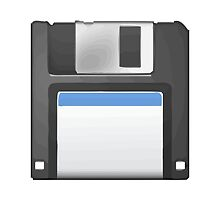 Floppy Disk Apple / WhatsApp Emoji by emoji