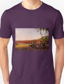 View from Cambria Winery, Santa Maria, CA Unisex T-Shirt