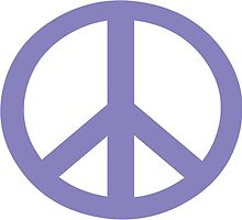 CND Peace Symbol by retromoomin