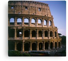 The Colosseum in Rome Italy Canvas Print