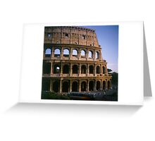 The Colosseum in Rome Italy Greeting Card