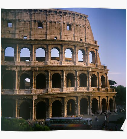 The Colosseum in Rome Italy Poster