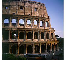 The Colosseum in Rome Italy Photographic Print