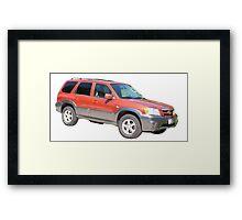 Mazda Tribute Framed Print
