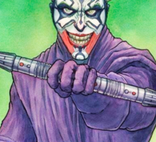 The joker Maul Sticker