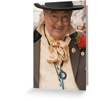 Mr Bumble Greeting Card