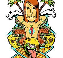 Anthony Kiedis by rockgendary