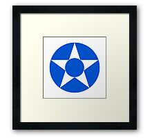 Guatemalan Air Force - Roundel Framed Print