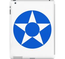 Guatemalan Air Force - Roundel iPad Case/Skin